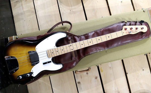 1956 Fender Precision Bass, 2 Tone Sunburst