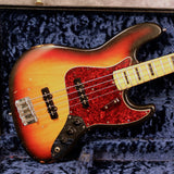 1973 Fender Jazz Bass, Sunburst, Maple
