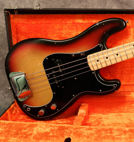 1974 Fender Precision Bass, Sunburst