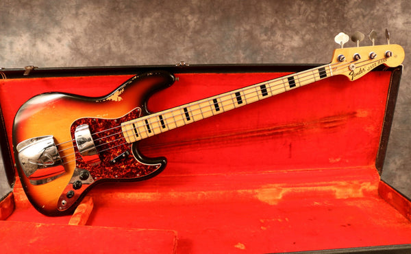 1972 Fender Jazz Bass, Sunburst