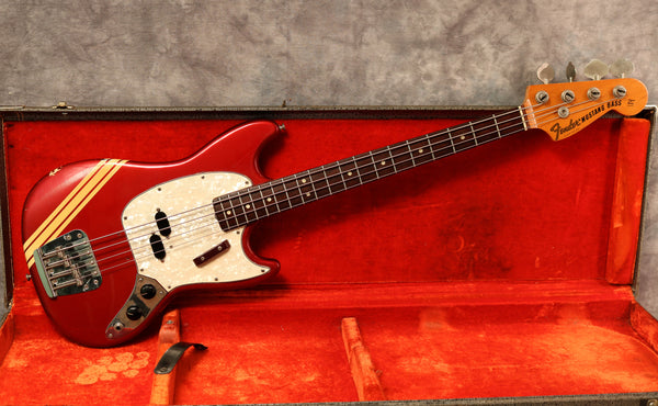 1973 Fender Mustang Bass, Competition Red