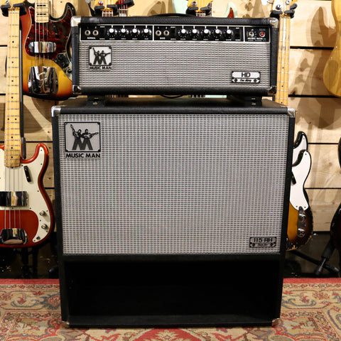 1976 Music Man HD-130 Head & 115RH Cabinet
