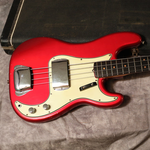1964 Fender Precision Bass, Candy Apple Red