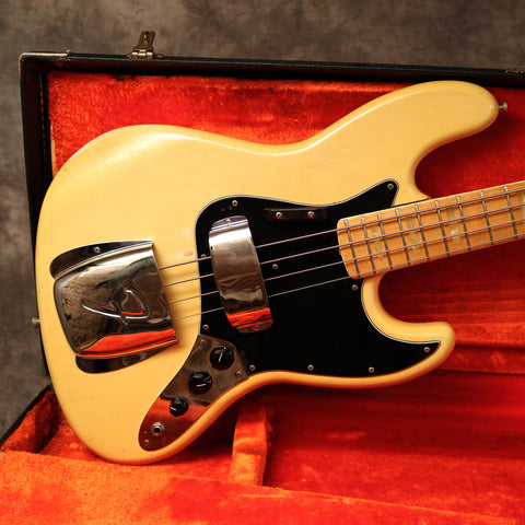 1974 Fender Jazz Bass, Blonde