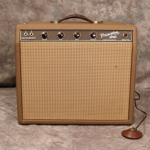 1963 Fender Princeton, Brown Tolex