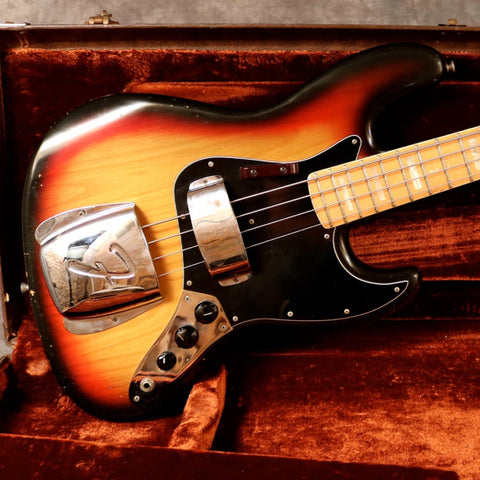 1975 Fender Jazz Bass, Sunburst