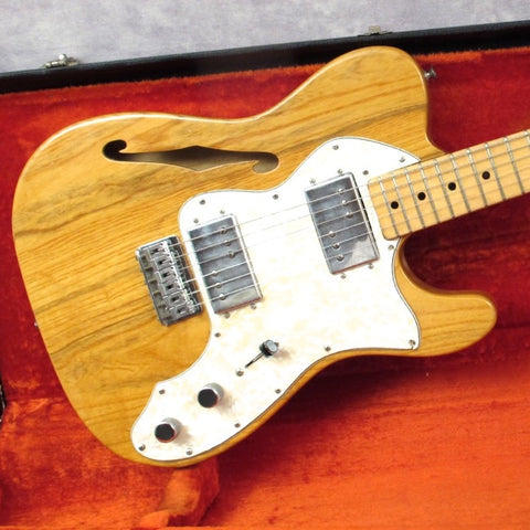 1973 Fender Telecaster Thinline, Natural
