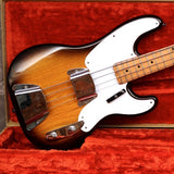 1955 Fender Precision Bass, Sunburst Refin