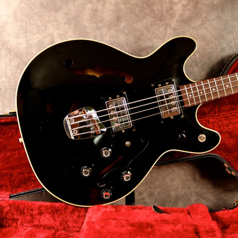 1973 Guild Starfire II Bass, Black