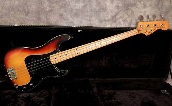 1973 Fender Precision Bass, Sunburst, A Neck