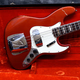 1969 Fender Jazz Bass, Candy Apple Red