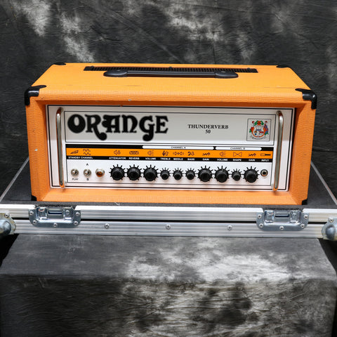 Orange Thunderverb 50 With Flight Case & Footswitch