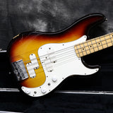 1983 Fender Elite Precision Bass II, Sunburst