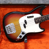 1974 Fender Mustang Bass, Sunburst