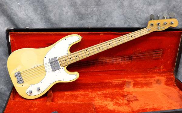 1974 Fender Telecaster Bass, Blonde