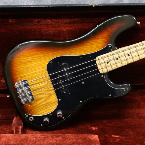 1978-80 Fender Precision Bass, Sunburst