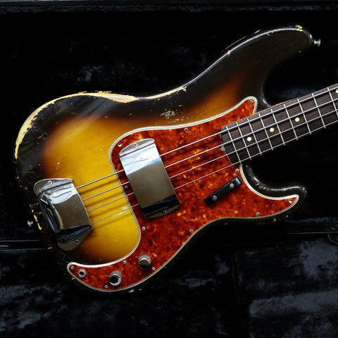 1960 Fender Precision Bass, Sunburst