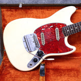 1966 Fender Mustang, Olympic White
