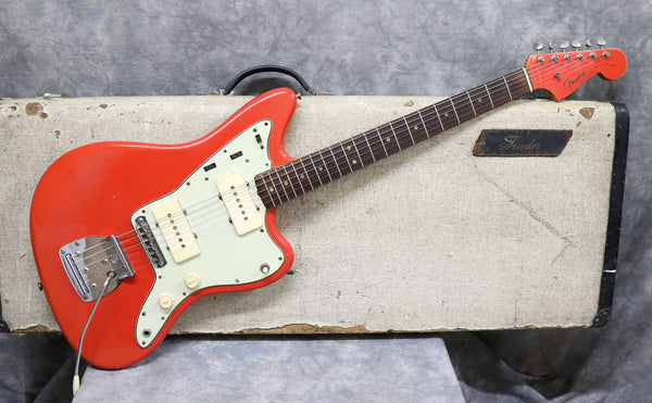 1963 Fender Jazzmaster - Fiesta Red Refinish