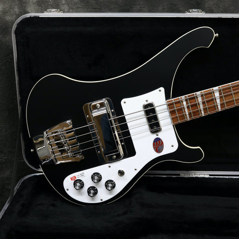 2020 Rickenbacker 4003, Matte Black *In Stock*