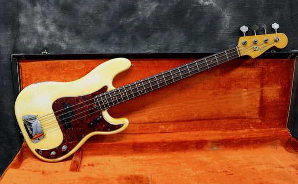 1964 Fender Precision Bass, Olympic White
