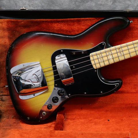 1974 Fender Jazz Bass, Sunburst