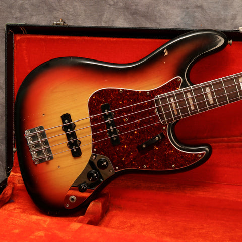 1969 Fender Jazz Bass, Sunburst