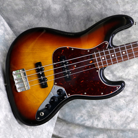 1982 Squier/Fender JV 62 Jazz Bass, Sunburst