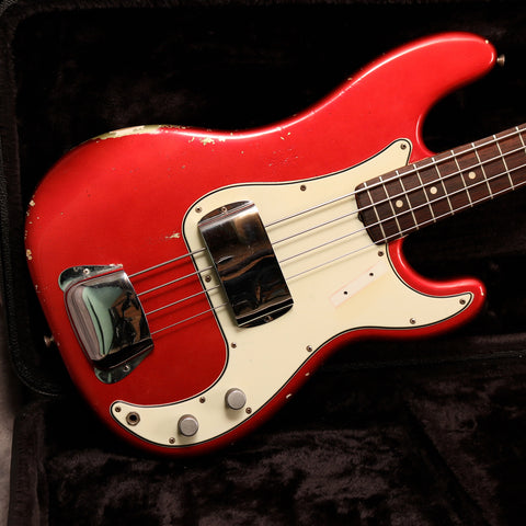 1965 Fender Precision Bass, Candy Apple Red
