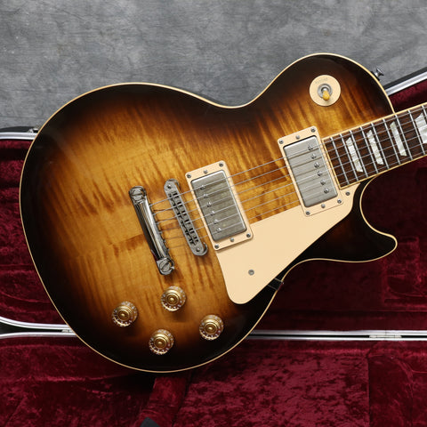 2008 Gibson Les Paul Standard - Tobacco Burst - Flame Top