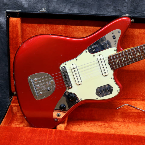 1965 Fender Jaguar, Candy Apple Red