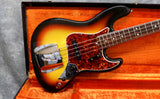 1966 Fender Jazz Bass, Sunburst - Dot & Bound