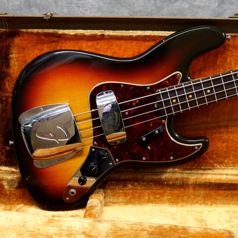 1962 Fender Jazz Bass, Sunburst *New Arrival*
