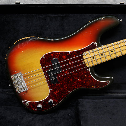 1973 Fender Precision Bass, Sunburst