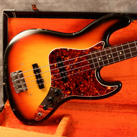 1966 Fender Jazz Bass, Sunburst