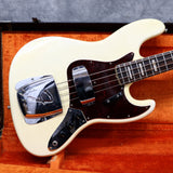 1966 Fender Jazz Bass, Olympic White