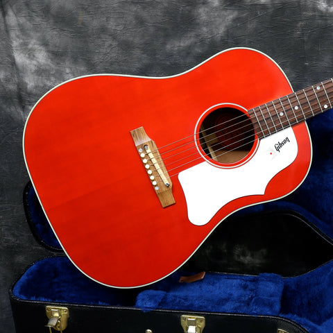 2012 Gibson J45, '68 Reissue, Cardinal Red
