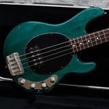2002 Music Man Stingray, Trans Teal