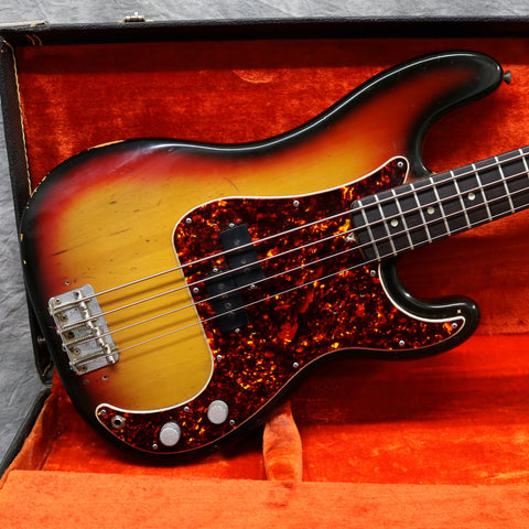 1972 Fender Precision Bass, Sunburst