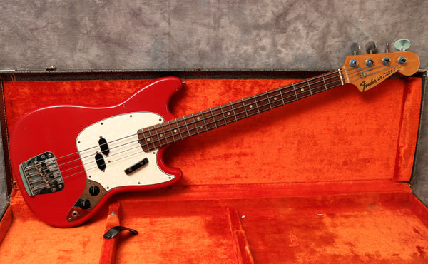 1967 Fender Mustang Bass, Dakota Red
