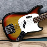 1975 Fender Mustang Bass, Sunburst