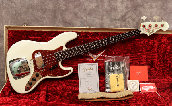 2010 Fender Custom Shop '64 Jazz Bass Relic - Ltd Edition - Sonic Blue
