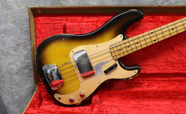 1957 Fender Precision Bass, 2-Tone Sunburst