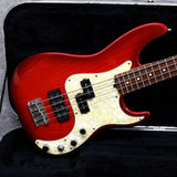 1996 Fender Precision Deluxe, Trans Red