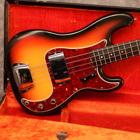 1966 Fender Precision Bass, Sunburst