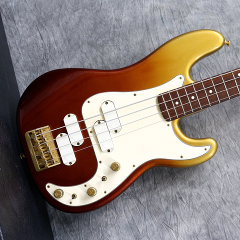 1984 Fender Elite Precision Bass II, Bronze Stratoburst