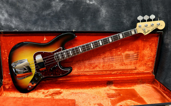 1968 Fender Jazz Bass, Sunburst
