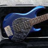 2006 Music Man Stingray 5 HH, Blue Pearl