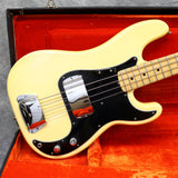 1977 Fender Precision Bass, Olympic White