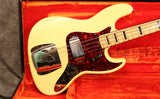 1972 Fender Jazz Bass, Olympic White